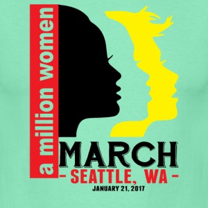 Women' s March Seattle Wa T-Shirts - Men's T-Shirt