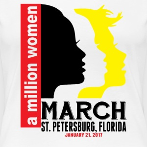 Women's March St. Petersburg Florida T-Shirts - Women's Premium T-Shirt
