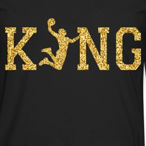 Basketball King Long sleeve shirts - Men's Premium Longsleeve Shirt