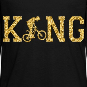 BMX King Long Sleeve Shirts - Teenagers' Premium Longsleeve Shirt