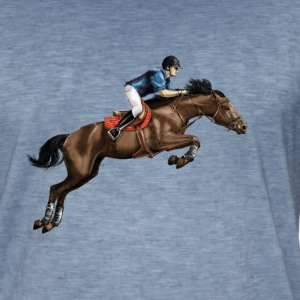 equestrian Tee shirts - T-shirt vintage Homme