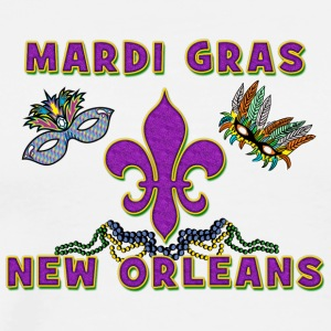 Mardi Gras New Orleans - Men's Premium T-Shirt