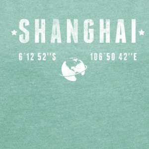 Shanghai T-Shirts - Women's T-shirt with rolled up sleeves