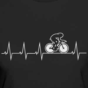 I love my bike - heartbeat T-Shirts - Women's Organic T-shirt