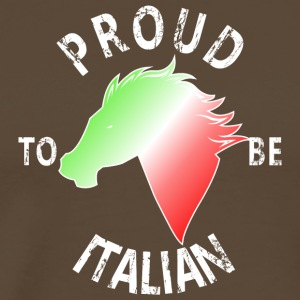 Proud To Be Italian - Männer Premium T-Shirt