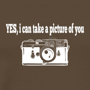 Yes, i can take a picture of you - Männer Premium T-Shirt