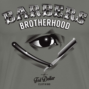 Barbers Brotherhood  Tee shirts - T-shirt Premium Homme
