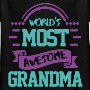 The best Grandma in the world Shirts - Kids' T-Shirt