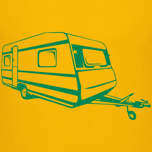 Wohnwagen, caravan, trailer (1 color) T-Shirts - Teenager Premium T-Shirt