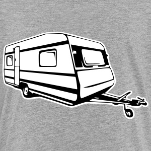Wohnwagen, caravan, trailer (2 color) T-Shirts - Teenager Premium T-Shirt
