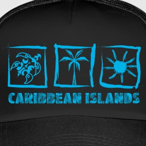 CARIBBEAN ISLANDS - Trucker Cap