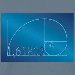 Fibonacci Squares Golden Spiral