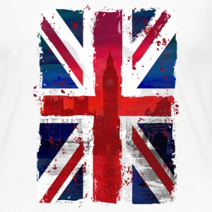 Union Jack - UK Flag - London Langarmshirts - Frauen Premium Langarmshirt