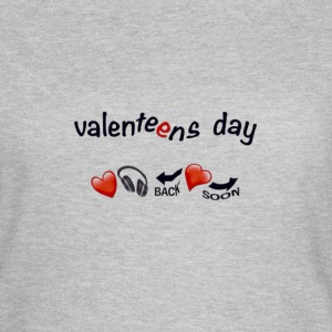 valenteens day  T-Shirts - Frauen T-Shirt