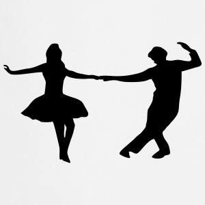 dancing couple Tabliers - Tablier de cuisine