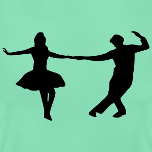 dancing couple T-shirts - Vrouwen T-shirt
