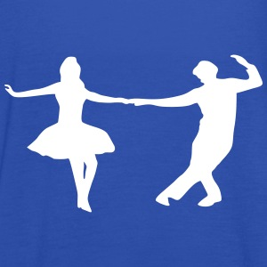 dancing couple Tops - Camiseta de tirantes mujer, de Bella