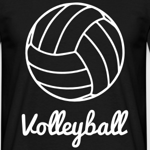 Volley, Volleyball t-shirt - Männer T-Shirt