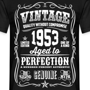 1953 Aged to Perfection White print - Men's T-Shirt