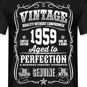 1959 Aged to Perfection White print - Men's T-Shirt