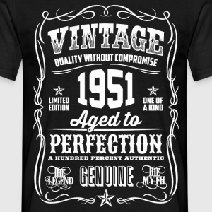 1951 Aged to Perfection White print - Men's T-Shirt