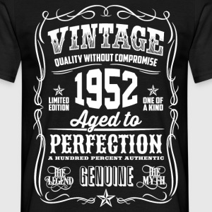 1952 Aged To Perfection White printed - Camiseta hombre