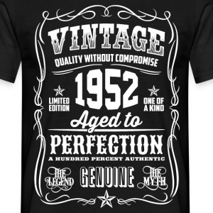 1952 Aged To Perfection pink Printed - Men's T-Shirt