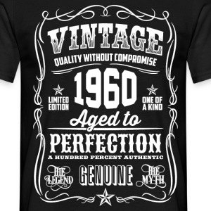 1960 Aged to Perfection White print - Men's T-Shirt