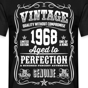 1968 Aged to Perfection White print - Men's T-Shirt