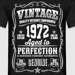 1972 Aged to Perfection White print - Men's T-Shirt