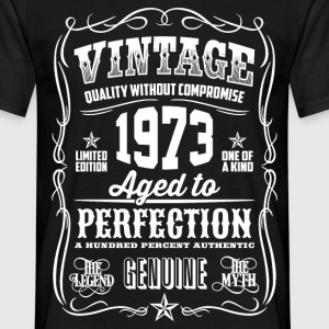 1973 Aged to Perfection White print - Men's T-Shirt