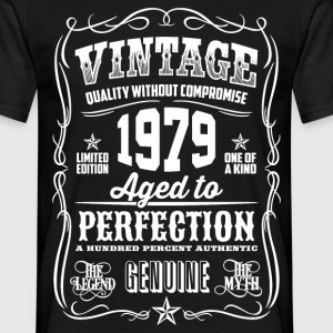 1979 Aged to Perfection White print - Men's T-Shirt