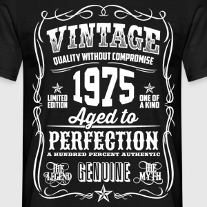 1975 Aged to Perfection White print - Men's T-Shirt