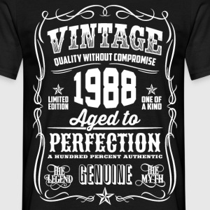 1988 Aged to Perfection White print - Men's T-Shirt