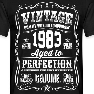1983 Aged to Perfection White print - Men's T-Shirt