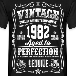 1982 Aged To Perfection pink Printed - Men's T-Shirt