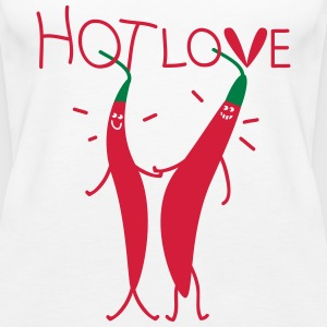 hot love  Tops - Women's Premium Tank Top