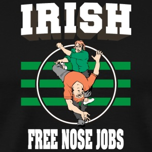 Irish Free Nose Jobs - Men's Premium T-Shirt