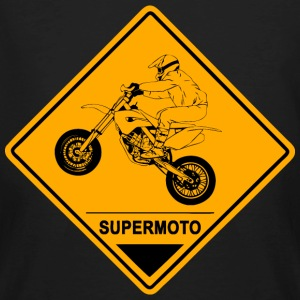 Supermoto Road Sign Tee shirts - T-shirt bio Homme