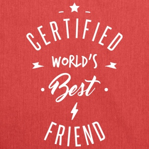 certified best friends Bags & Backpacks - Shoulder Bag made from recycled material