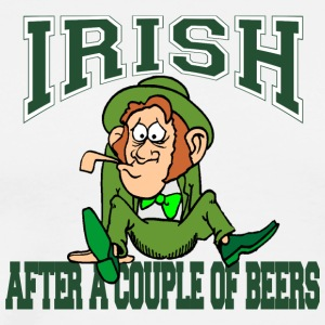 Irish After A Couple Of Beers - Men's Premium T-Shirt