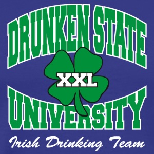 Irish Drunken State University Drinking Team - Men's Premium T-Shirt