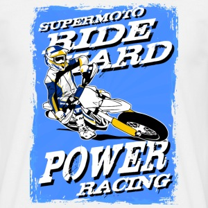 Supermoto Racing T-Shirts - Men's T-Shirt