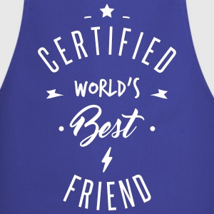 certified best friends  Aprons - Cooking Apron