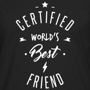 certified best friends Long sleeve shirts - Men's Premium Longsleeve Shirt