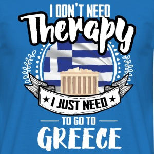 Therapy Greece T-Shirts - Men's T-Shirt