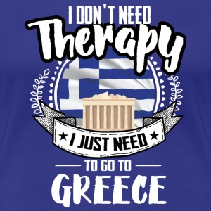 Therapy Greece T-Shirts - Women's Premium T-Shirt