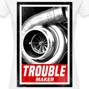 TROUBLE MAKER - Women's Premium T-Shirt