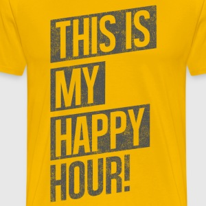 THIS IS MY HAPPY HOUR T-Shirts - Men's Premium T-Shirt