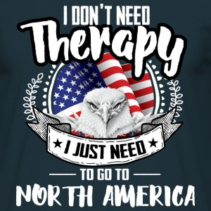 Therapy North America T-Shirts - Men's T-Shirt